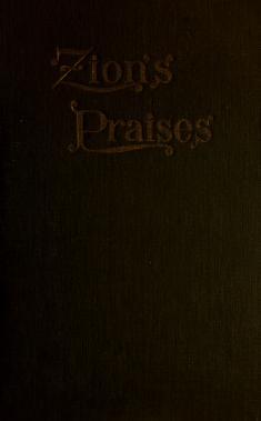 Zion's Praises (RLDS) (1903)