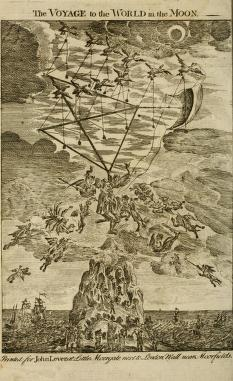 The Strange Voyage And Adventures Of Domingo Gonsales To The World In The Moon With A Description Of The Pike Of Teneriff As Travelled Up By Some English Merchants Godwin
