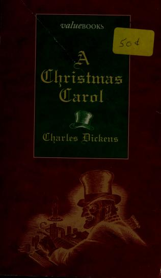 Cover of: A Christmas carol   Charles Dickens