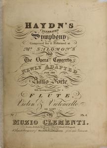 Cover of: Haydn's celebrated symphony, no. 1 | Franz Joseph Haydn