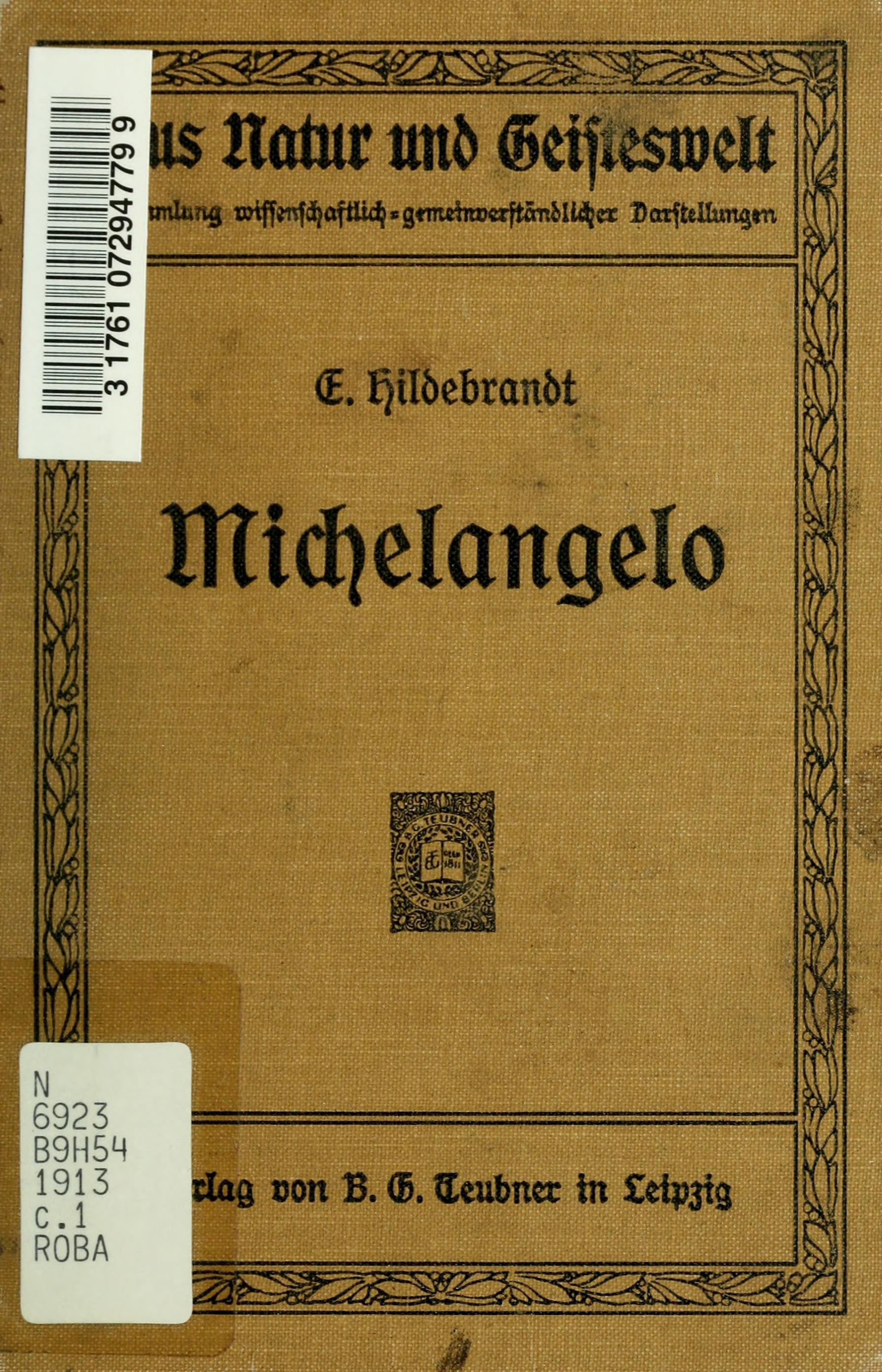 michelangeloeine00hild&server=ia800500.us.archive.org&page=preview&