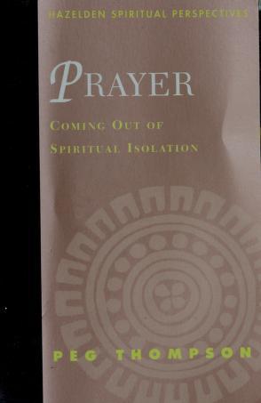 Cover of: Prayer | Peg Thompson